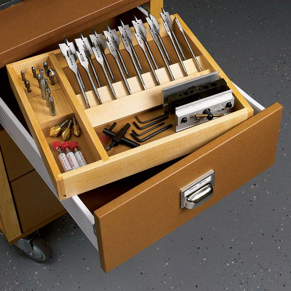 Workshop Drawer Organizer Woodworking Plan, Workshop & Jigs Shop Cabinets, Storage, & Organizers Workshop & Jigs $2 Shop Plans