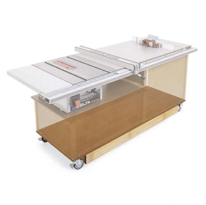 Easy-Mover Mobile Base Woodworking Plan, Workshop & Jigs Tool Bases & Stands Workshop & Jigs $2 Shop Plans