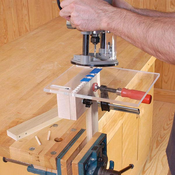 Multi-hole Doweling Jig Woodworking Plan, Workshop & Jigs Jigs & Fixtures Workshop & Jigs $2 Shop Plans