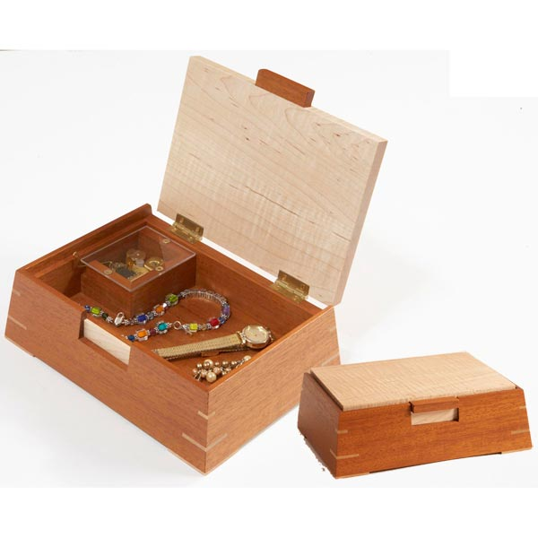 Slant-Sided Music Box Woodworking Plan, Gifts & Decorations Boxes & Baskets