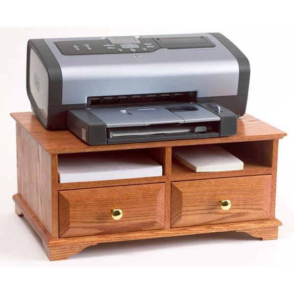 Wooden Printer Tables ~ Printer stand woodworking plan from wood magazine