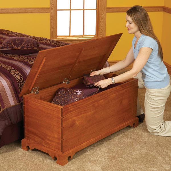 Blanket Chest Woodworking Plan, Furniture Chests