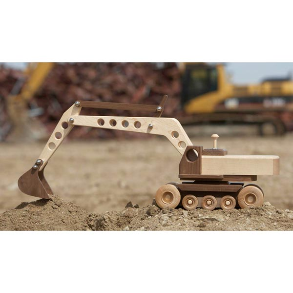 Construction-Grade Excavator Woodworking Plan, Toys & Kids Furniture