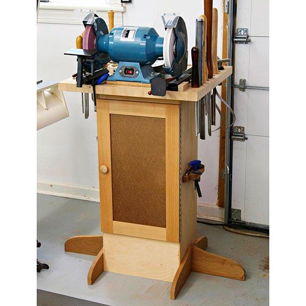 Sharpening Station Woodworking Plan, Workshop & Jigs Tool Bases & Stands Workshop & Jigs $2 Shop Plans