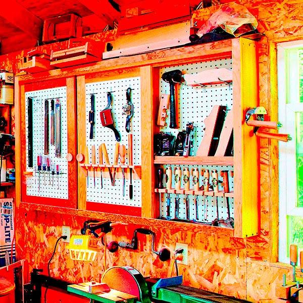 Space-Saving Tool Cabinet Woodworking Plan, Workshop & Jigs Shop Cabinets, Storage, & Organizers Workshop & Jigs $2 Shop Plans