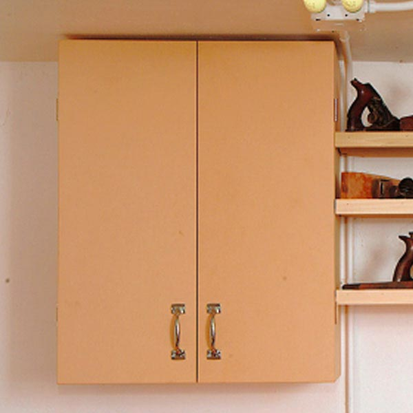 Basic Wall Cabinet Woodworking Plan, Workshop & Jigs Shop Cabinets, Storage, & Organizers Workshop & Jigs $2 Shop Plans