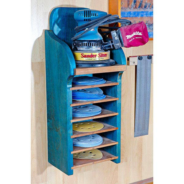 Random-Orbit Sanding Center Woodworking Plan, Workshop & Jigs Shop Cabinets, Storage, & Organizers Workshop & Jigs $2 Shop Plans