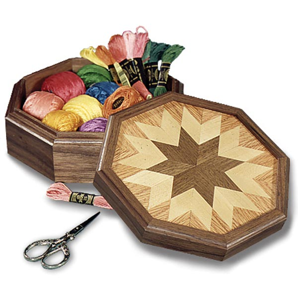Country All-Star Keepsake Box Woodworking Plan,