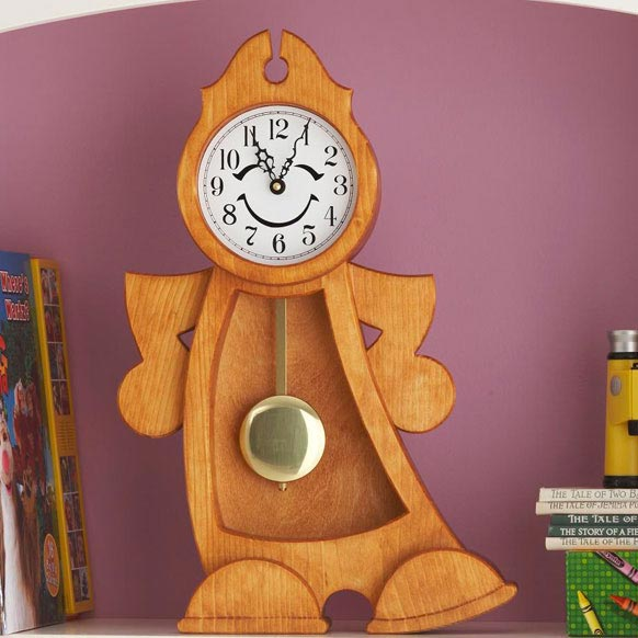 Dancing Clock Woodworking Plan, Gifts & Decorations Clocks Toys & Kids ...