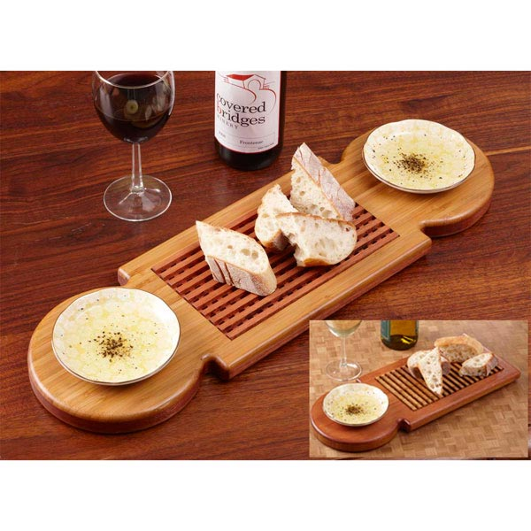 Bread-Dipping Tray