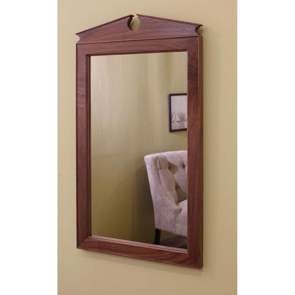 Federal Pediment Mirror Woodworking Plan, Furniture Mirrors