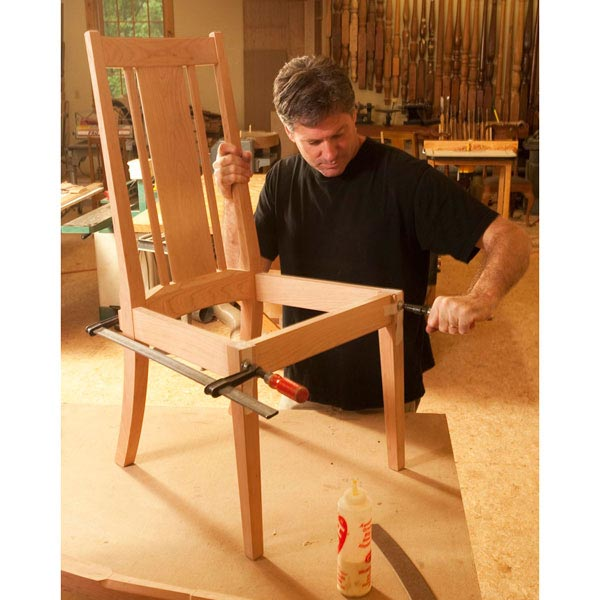 Step-by-Step Elegant Chair Woodworking Plan, Furniture Seating