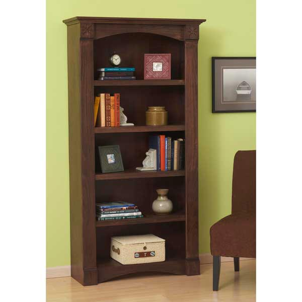 Classic Bookcase Woodworking Plan, Furniture Bookcases & Shelving