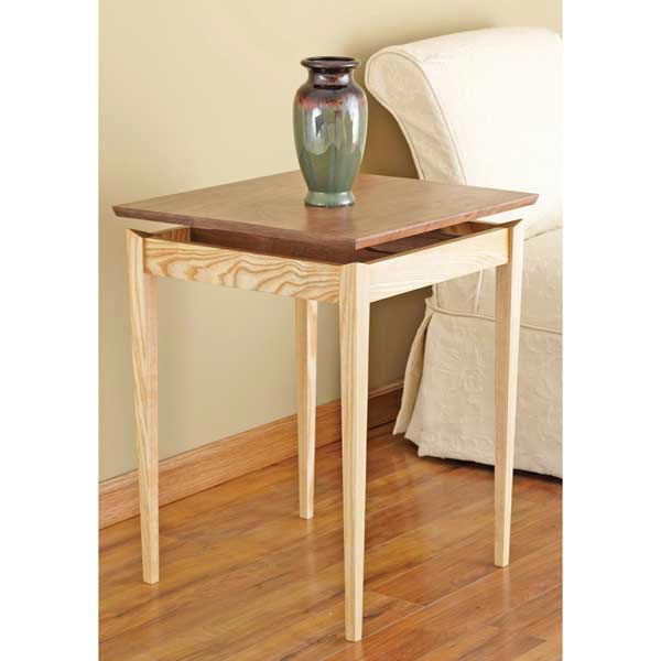 Floating-top Table Woodworking Plan, Furniture Tables