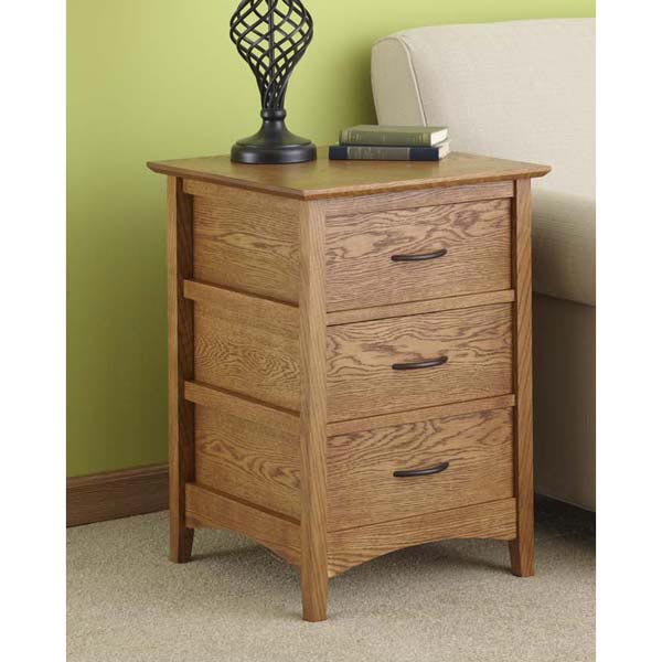 Sideless Side Table Woodworking Plan, Furniture Tables