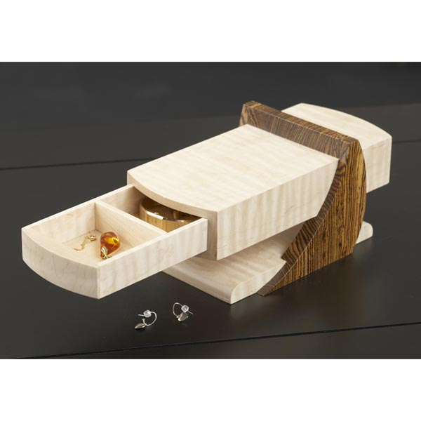 Cantilevered Jewelry Box Woodworking Plan, Gifts & Decorations Boxes ...
