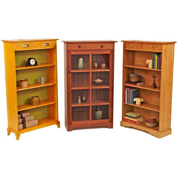 Have-it-your-way Bookcases