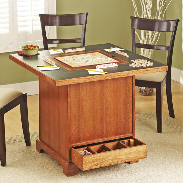 Store-It-All Game Table Woodworking Plan, Furniture Tables Toys & Kids Furniture
