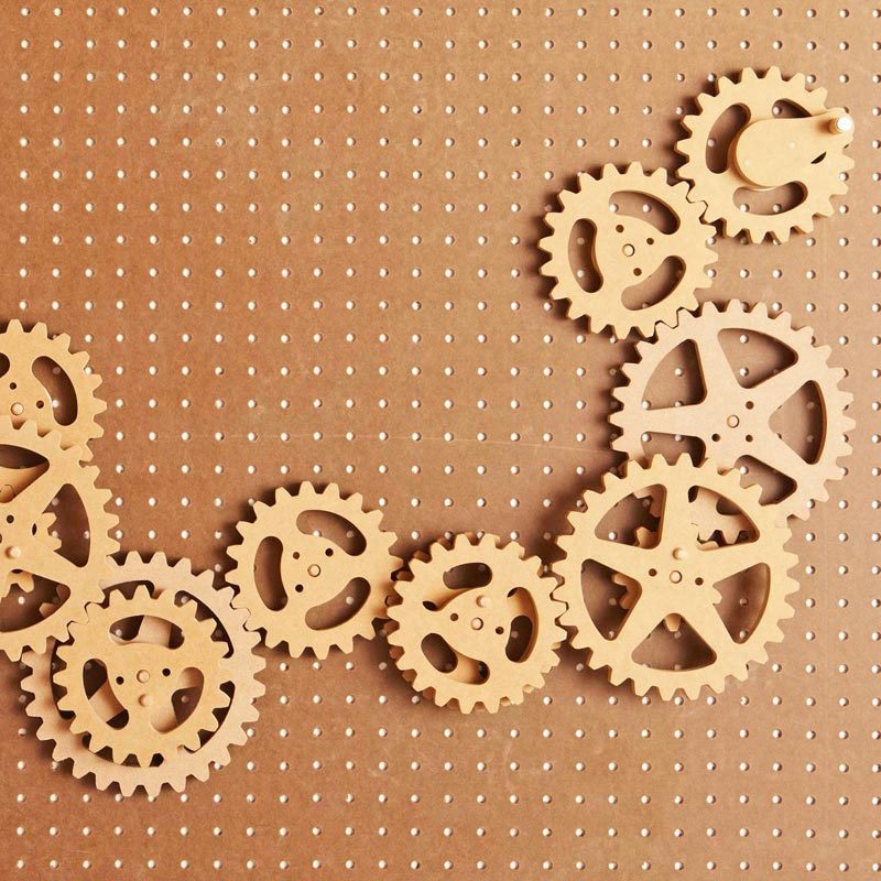 Scrollsawn Gears Woodworking Plan, Gifts & Decorations Scrollsaw, Carving, & Decorative Projects Toys & Kids Furniture