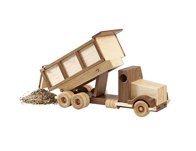 Construction-Grade Dump Truck