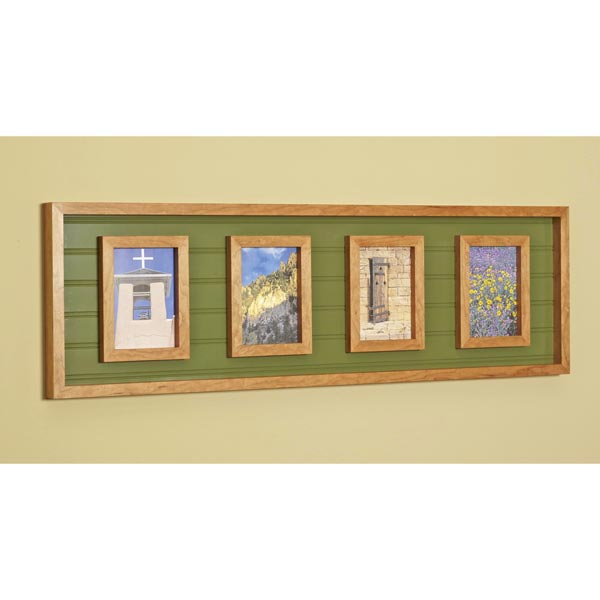 Multi-photo Frame Woodworking Plan, Gifts & Decorations Picture Frames