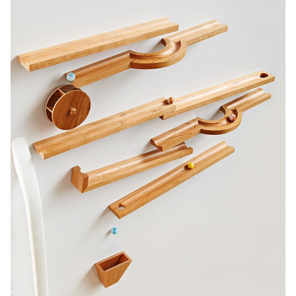 Marble Run Woodworking Plan From WOOD Magazine