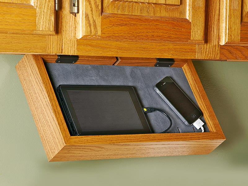 Phone-Charging Station Woodworking Plan, Gifts & Decorations Kitchen Accessories Gifts & Decorations Boxes & Baskets Furniture Cabinets & Storage
