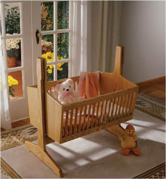 Pendulum Cradle Woodworking Plan, Toys & Kids Furniture