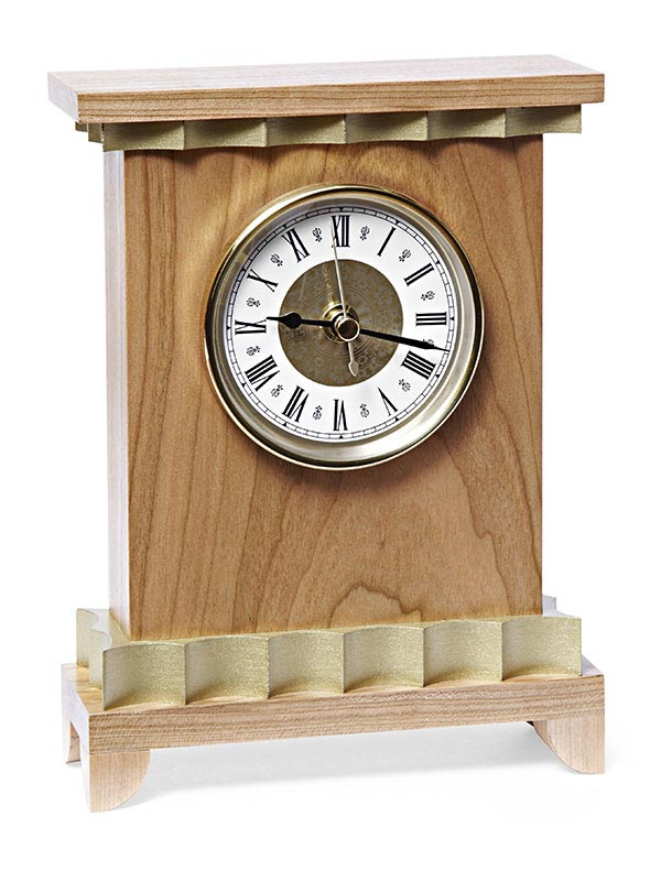 Neoclassical Clock Woodworking Plan, Gifts & Decorations Clocks