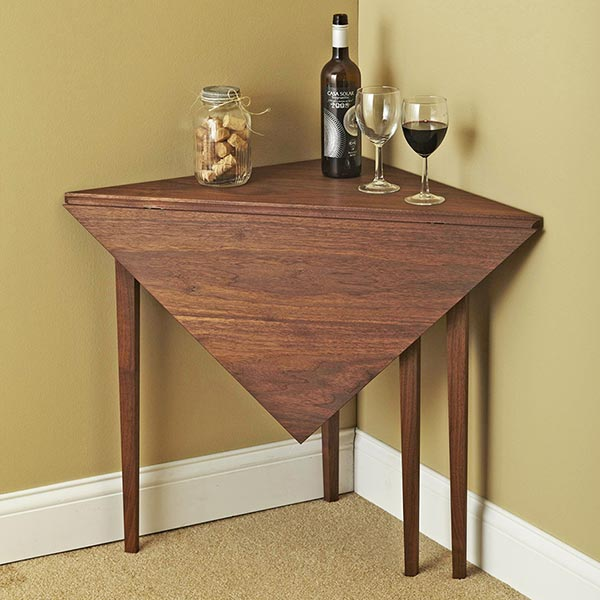 Handkerchief Table Woodworking Plan, Furniture Tables