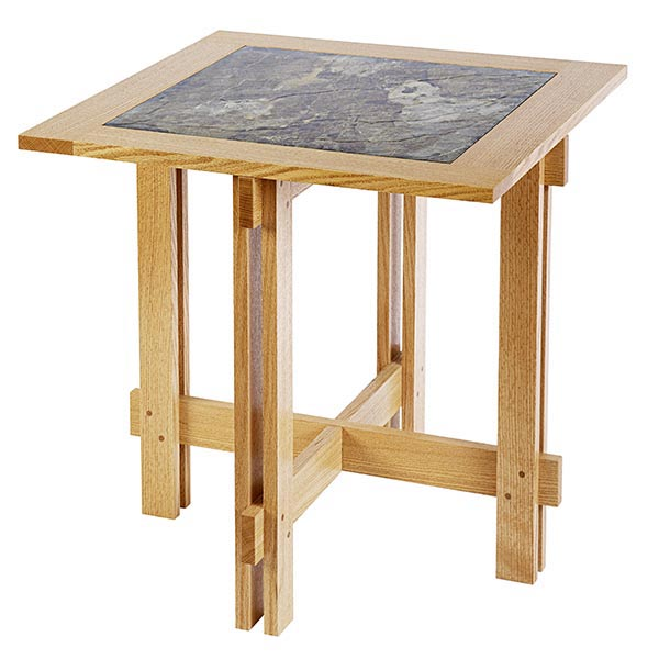 Tile-Top Accent Table
