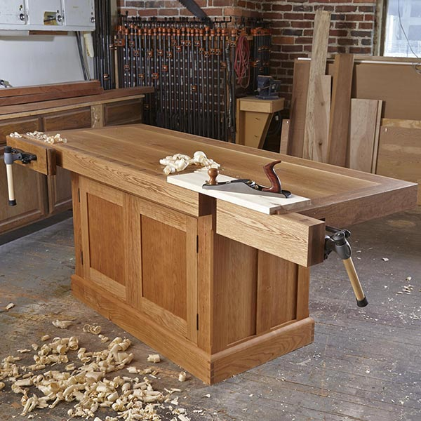 Heirloom Workbench Woodworking Plan, Workshop & Jigs Workbenches