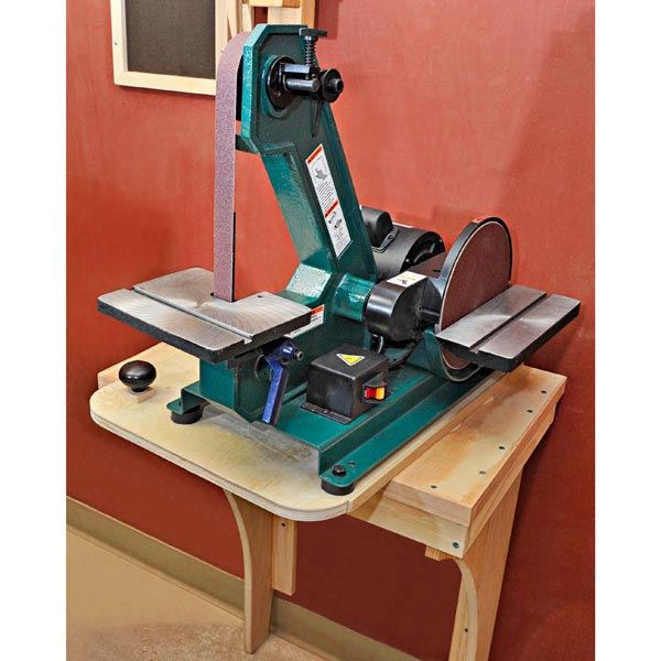 Slick, Swiveling Sander Stand Woodworking Plan, Workshop & Jigs Tool Bases & Stands Workshop & Jigs $2 Shop Plans