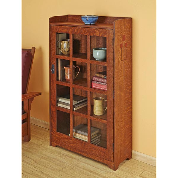 Arts and Crafts Bookcase Woodworking Plan, Furniture Bookcases & Shelving