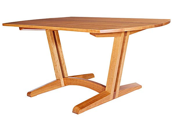 contemporary dining room table woodworking plan from wood magazine