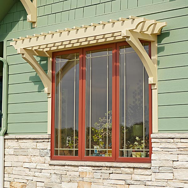 Window or Door Arbor Woodworking Plan from WOOD Magazine
