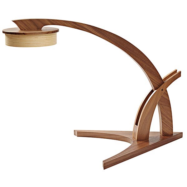 Prairie-Grass Desk Lamp Woodworking Plan from WOOD Magazine