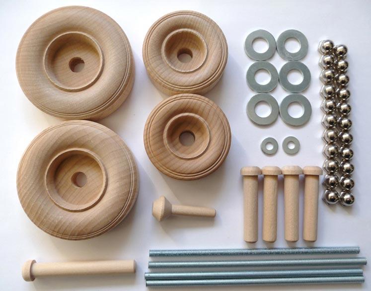 Construction-Grade Backhoe Loader Project Kit - RS-01023