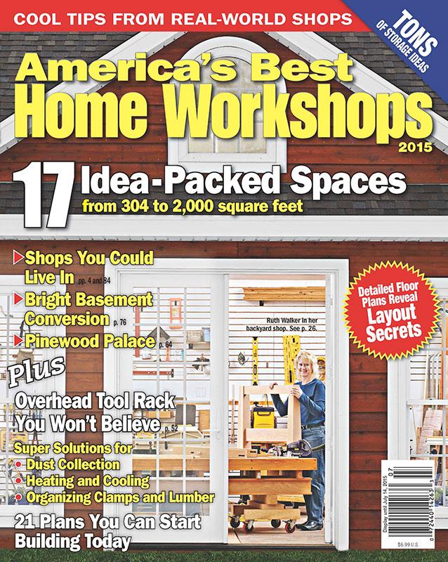 Americas Best Home Workshops 2015 Americas Best Home Workshops 2015,Books & Magazines,WOOD Magazine,Americas Best Home Workshops 2015,2015,Magazine or Book