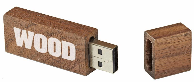 The Complete WOOD Magazine Collection on USB Thumb Drive