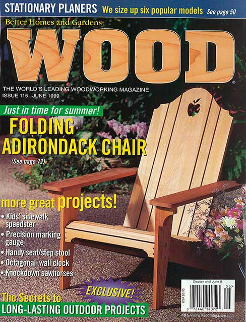 WOOD Issue 115, June 1999, WOOD Magazine
