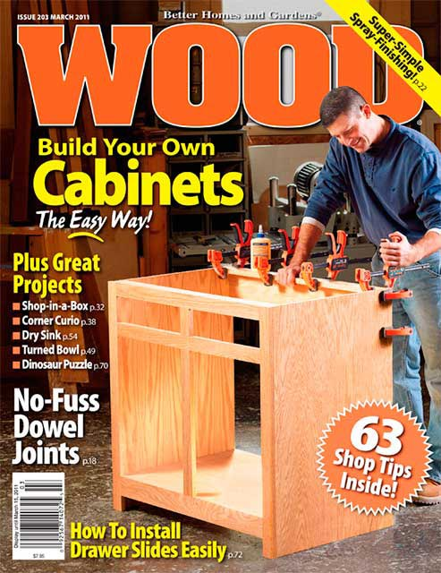 WOOD Issue 203, March 2011, WOOD Magazine