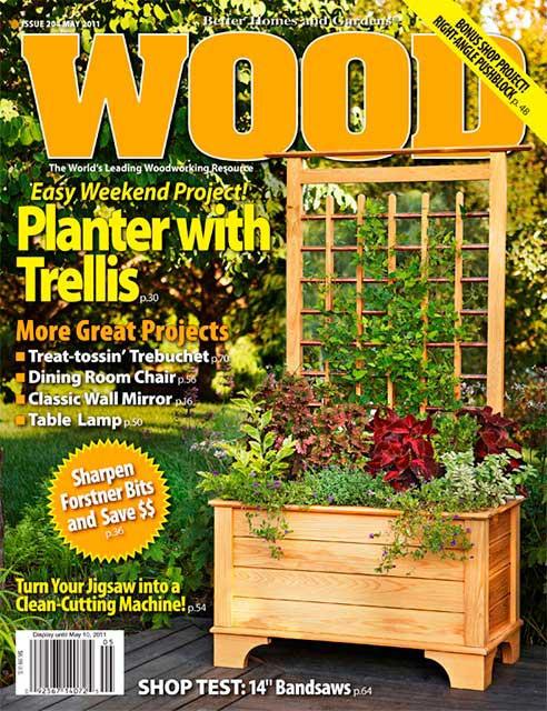 WOOD Issue 204, May 2011, WOOD Magazine