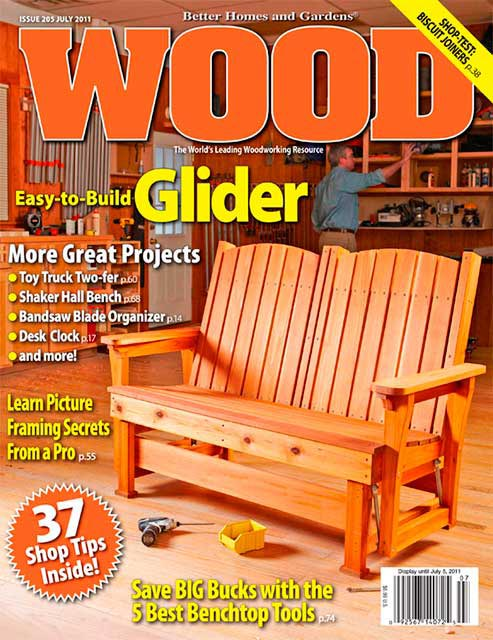 WOOD Issue 205, July 2011, WOOD Magazine