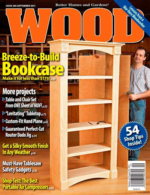 WOOD Issue 206, September 2011, WOOD Magazine