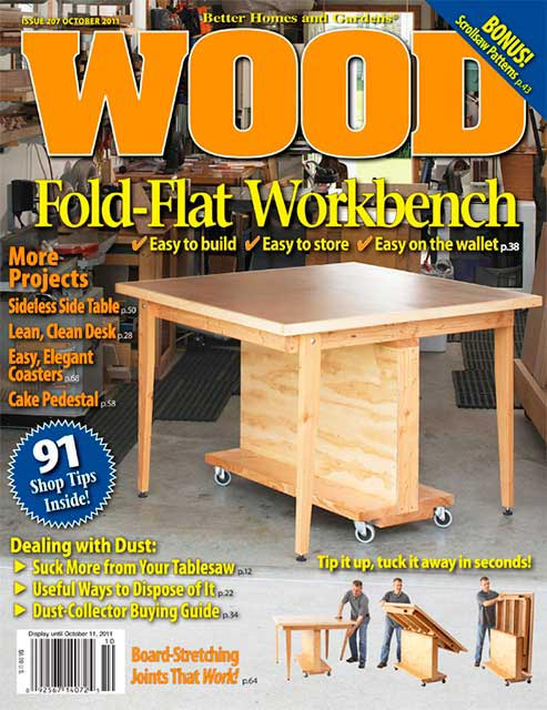 WOOD Issue 207, October 2011, WOOD Magazine