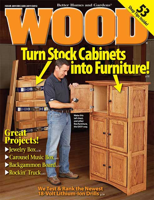 WOOD Issue 209, December/January 2011/2012, WOOD Magazine