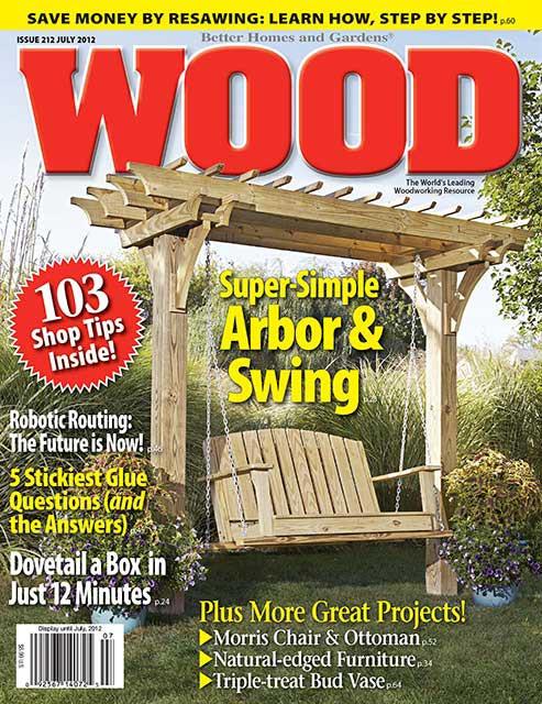 WOOD Issue 212, July 2012, WOOD Magazine