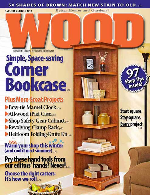 WOOD Issue 214, October 2012, WOOD Magazine