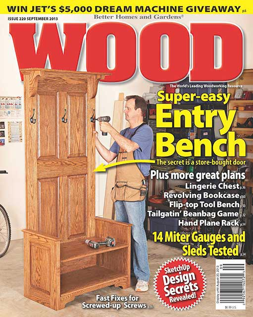 WOOD Issue 220, September 2013, WOOD Magazine